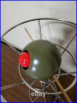 1993 Vintage David Krys 14.5 Bar Light Lamp Pop Art Martini Olive metal Retro
