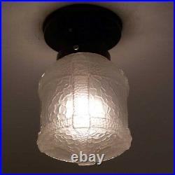 232 Vintage Antique Ceiling Light Lamp Fixture Arts Crafts Gothic Hall Porch