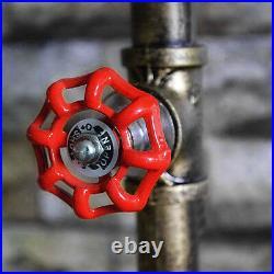 E27 Vintage Fixture Water tube Light Art Floor Stand Lamp Home Hotel Decor Lamp