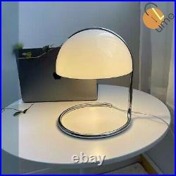 MiLK the Retro Glass Vintage Table Lamp White Art Deco Bedroom Desk Luminaire
