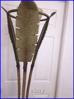 Palm Tree Floor Lamp Art Deco Vintage