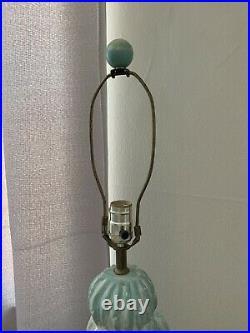 Rare! Vintage Large Painted Plaster Cactus Floor Lamp Western Decor Art Folk