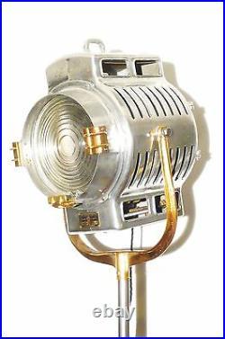 VINTAGE 1930s HOLLYWOOD FILM STUDIO SPOT LIGHT MOLE RICHARDSON 210 ART DECO LAMP