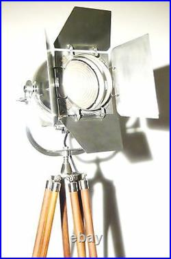 VINTAGE FILM LAMP INDUSTRIAL ANTIQUE ART ALESSI THEATRE CINEMA LIGHT SPUTNIK 50s