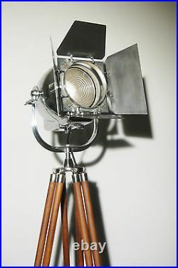 Vintage Film Lamp Industrial Antique Art Deco Strand Jielde Alessi Theatre Light
