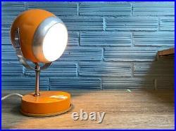 Vintage Space Age Lamp Design Atomic Light Mid Century Table Pop Art Eyeball